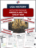 World War One/First World War and America Bundle - 47 Page