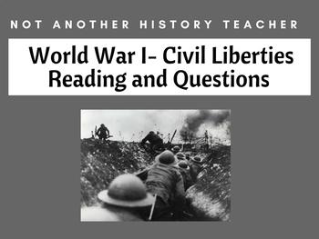 World War I and Civil Liberties