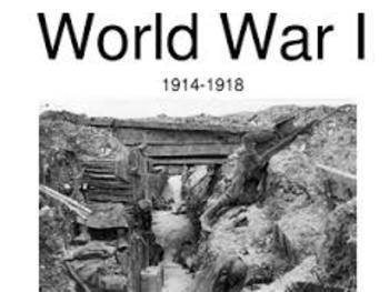 World War I and Great Depression Interactive Notebook
