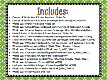World War I and II Mega Unit Bundle (WW1, WW2)