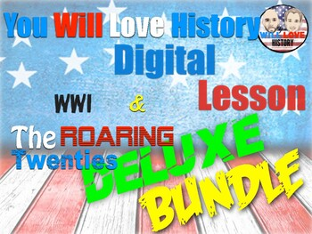 World War I and Roaring 20's Digital Deluxe Bundle