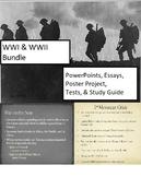 World War I and World War II PowerPoint Bundle