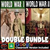 World War I Unit AND World War 2 Unit - Google Worksheets for Distance Learning