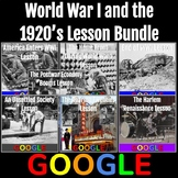 World War I and the 1920's Lesson Bundle