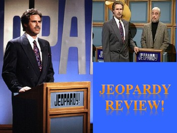 World War I jeopardy review game