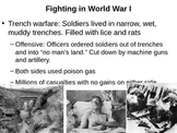 World War I lecture slides