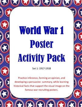 World War I with Pictures, Reading Background and Writing Prompt