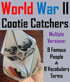 World War 2 Activity (WWII Cootie Catcher Foldable Review)