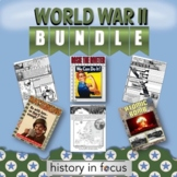 World War II Worksheets and Word Wall Bundle