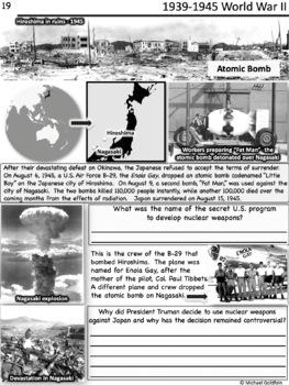 World War II Worksheets and Word Wall Bundle