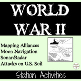 World War 2 Station Activities on World War 2 Maps & Milit