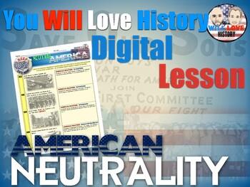 World War II: A Neutral America Digital Google Activity