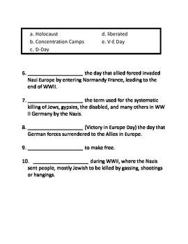 World War II ASSESSMENT
