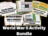 World War II Activity Bundle: GOOGLE APPS BASED LESSONS