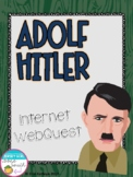 World War II Adolf Hitler Internet Scavenger Hunt WebQuest Activity