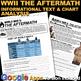 World War 2 Aftermath Informational Text & Chart Analysis (WWII)
