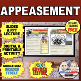 World War II: Appeasement and the Munich Conference Bundle