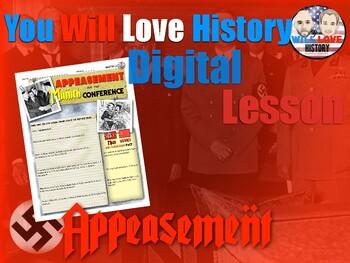 World War II: Appeasement and the Munich Conference Digital Google Activity