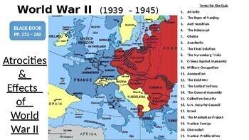 World War II: Atrocities & Major Effects of WWII