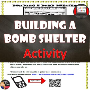 Cold War - BUILD A BOMB SHELTER Activity & Video – The Arms Race
