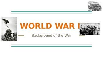 World War II Background/Overview PowerPoint Presentation