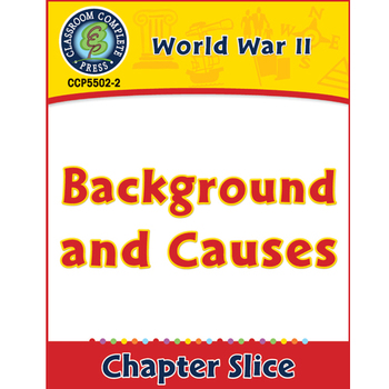 World War II: Background and Causes Gr. 5-8
