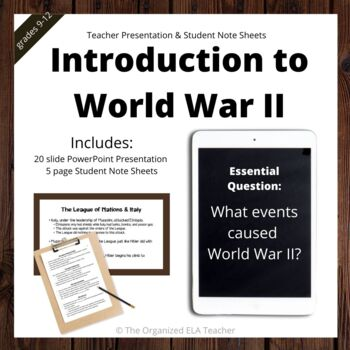 Introduction to World War II Background and Information