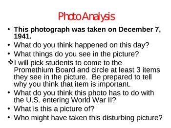 World War II Beginnings PowerPoint with Class Activities