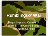 World War II Beginnings PowerPoint with Class Activities