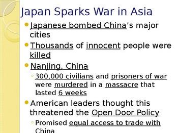 World War II - World War II Begins PowerPoint