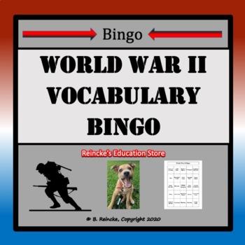 World War II Bingo (30 pre-made cards!)