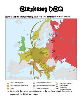 World War II: Blitzkrieg DBQ