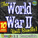World War II Unit Bundle! 5 WWII resources to enhance any unit on World War 2!