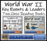 World War II Bundle of Two Informational Text Activity Books