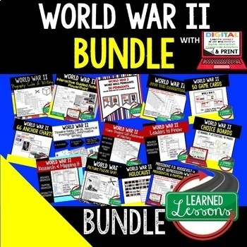 World War II BUNDLE (American History Bundle)
