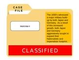 World War II - CSI: Causes of WWII
