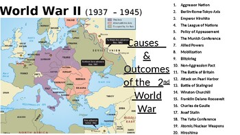 World War II: Cause & Major Events of WWII