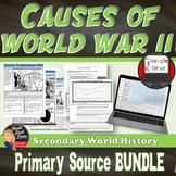 World War II Causes | Primary Source Analysis BUNDLE | SOAPStones