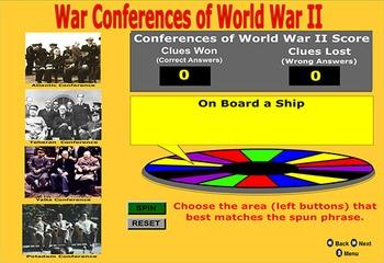 World War II Conferences - by Bill Burton