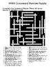 World War II Crossword Review Puzzle