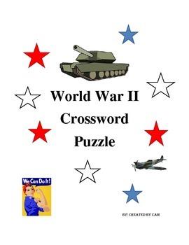 World War II Crossword Puzzle