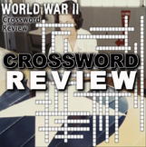 World War 2 Crossword Puzzle Review (WW II)