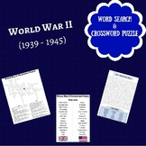 World War II Crossword Puzzle & Word Search