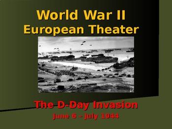 World War II - European Theater - D-Day Invasion