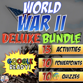 World War II Deluxe Bundle - PowerPoint Version (PC USERS ONLY)