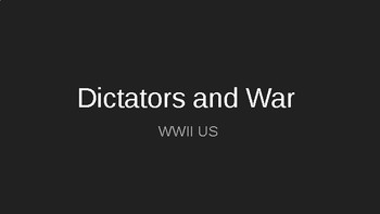World War II Dictators