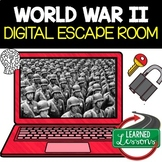 World War II Digital Escape Room, Test Prep, Distance Learning
