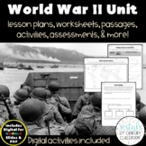 World War II {Digital & PDF Included}