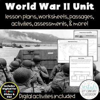 World War II {Digital & PDF Included}