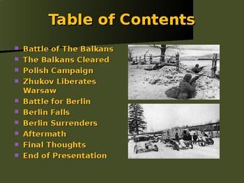 World War II - Eastern Front - Battle for the Soviet Union